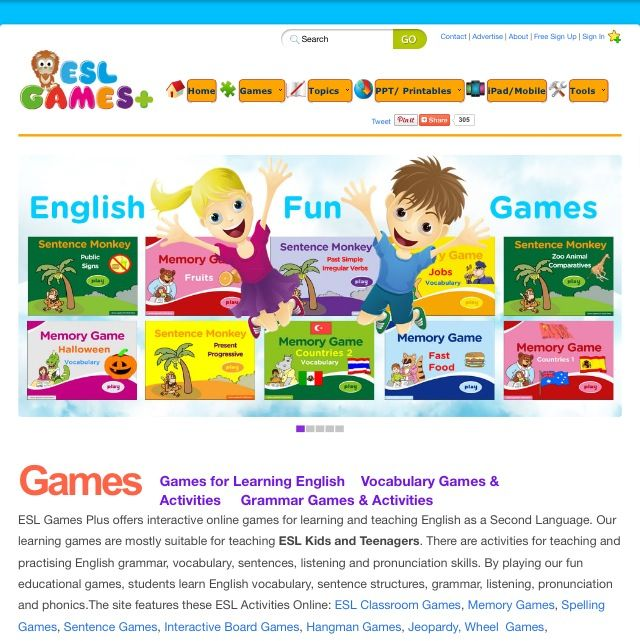 best English Language Learner Resources images on Pinterest