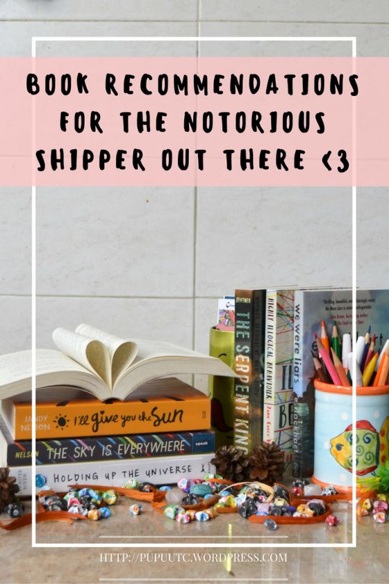 Book Recommendations for the Notorious Shipper Out There - letters of recommendations