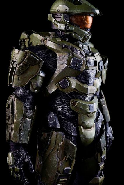 toyhaven: Pre-order ThreeA Toys HALO 4 Master Chief Spartan Mark IV Sixth Scale Figure (13.5 inches)