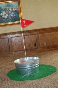 To hold beer?  And other things I can't drink. =)  Galvanized tin bucket-turned-sand trap.