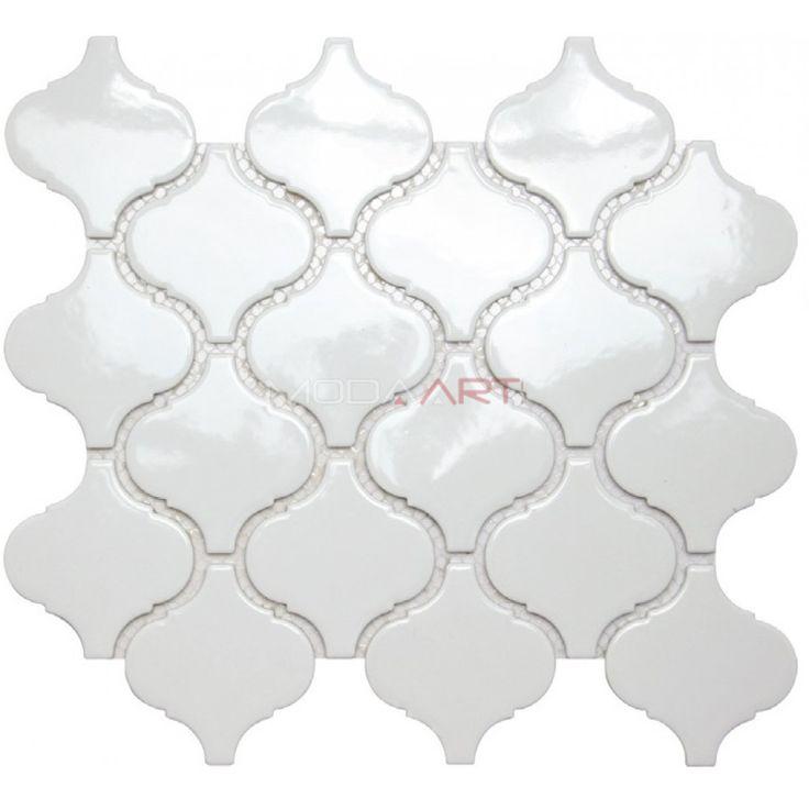 Doe White Modaarts Mosaic  Kristal Cam Mozaikler
