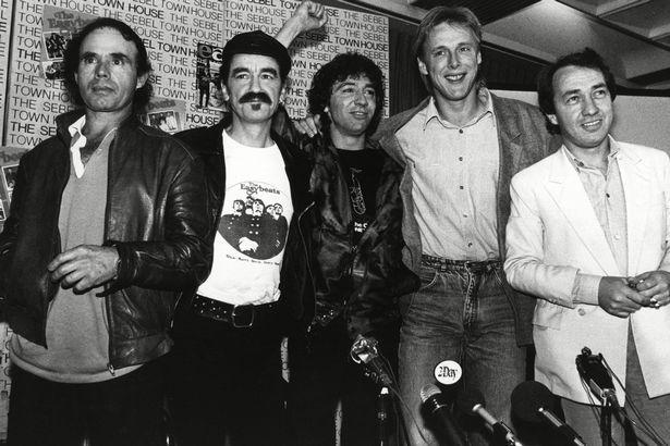 The Easybeats - Stevie Wright, George Young, Harry Vanda, Snowy Fleet and Dick Diamonde
