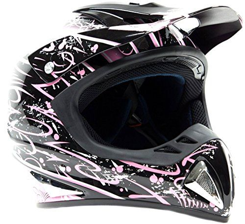http://motorcyclespareparts.net/typhoon-helmets-adult-off-road-dirt-bike-atv-motocross-helmet-dot-rated-pink-splatter-small/Typhoon Helmets Adult Off Road Dirt Bike ATV Motocross Helmet - DOT Rated - Pink Splatter ( Small )