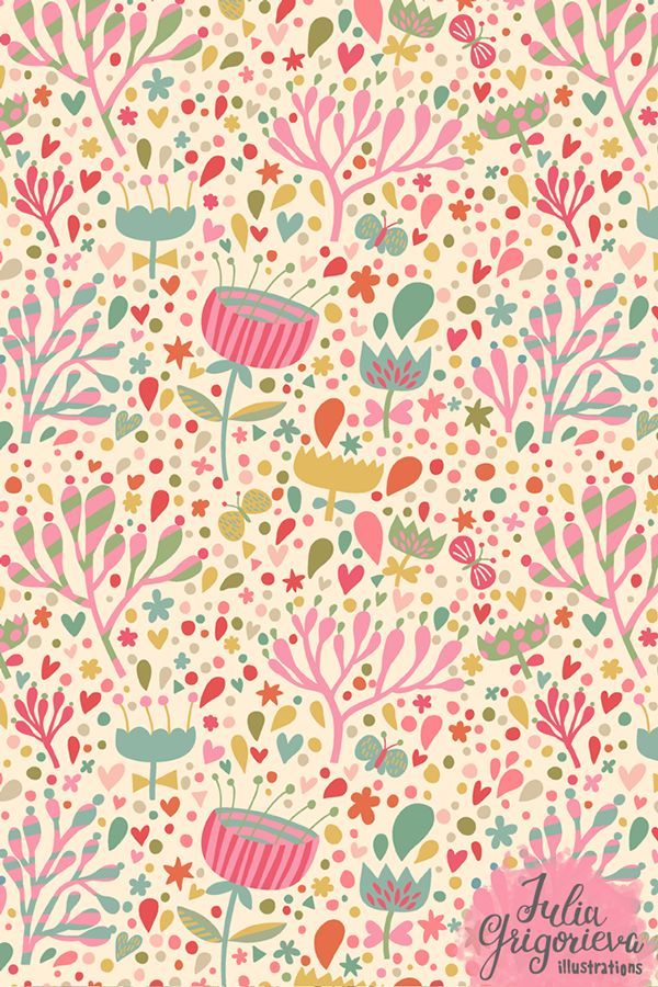 modern floral : By Julia Grigorieva