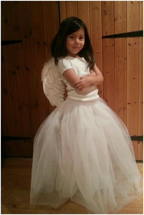 Easy Sewing Project: Nativity Costume – Angel Tulle Skirt | Jake & Maya Collective