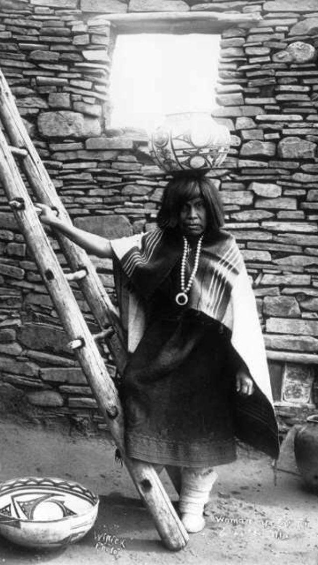 Zuni woman