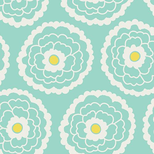 Art Gallery Fabric  Essentials  Girl About Town Mint