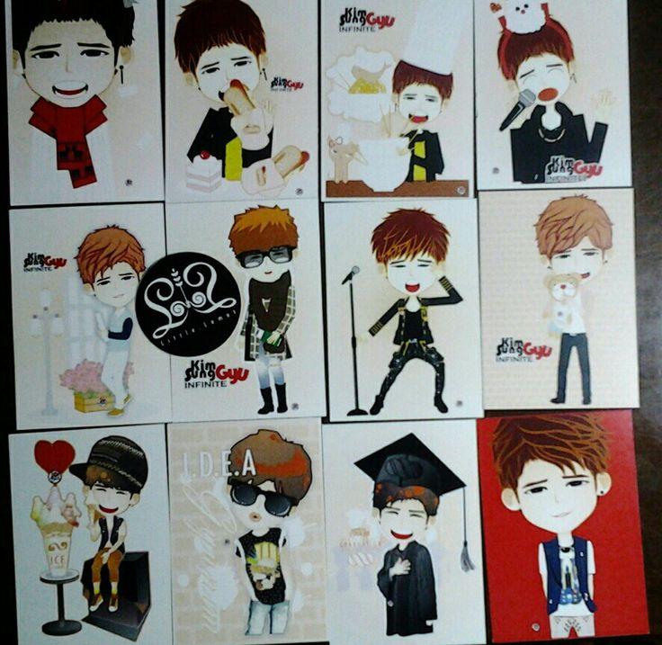 """Card collection """"Kim Sunggyu"""""""