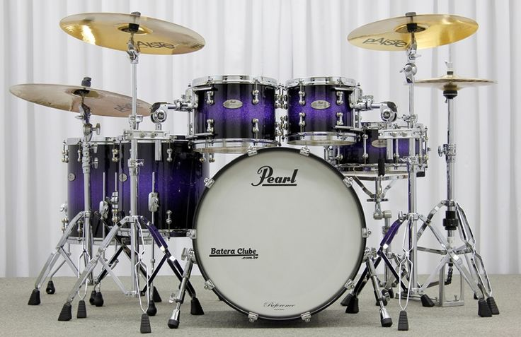 Battery Pearl Reference Pure Thin Shells Purple Crazy