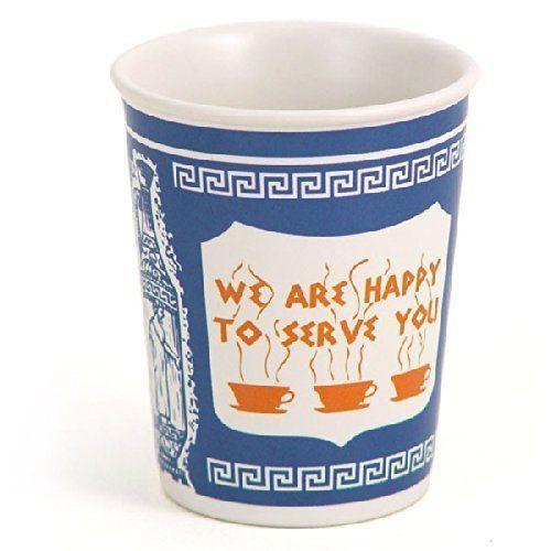 Greek Cups of New York | New york art, Paper coffee cup, Greek