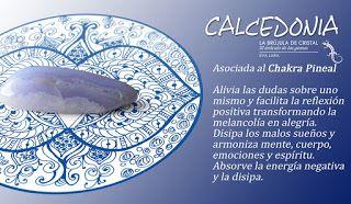 Calcedonia. Chakra Pineal. #labrujuladecristal LA BRUJULA DE CRISTAL, Eva Lara.