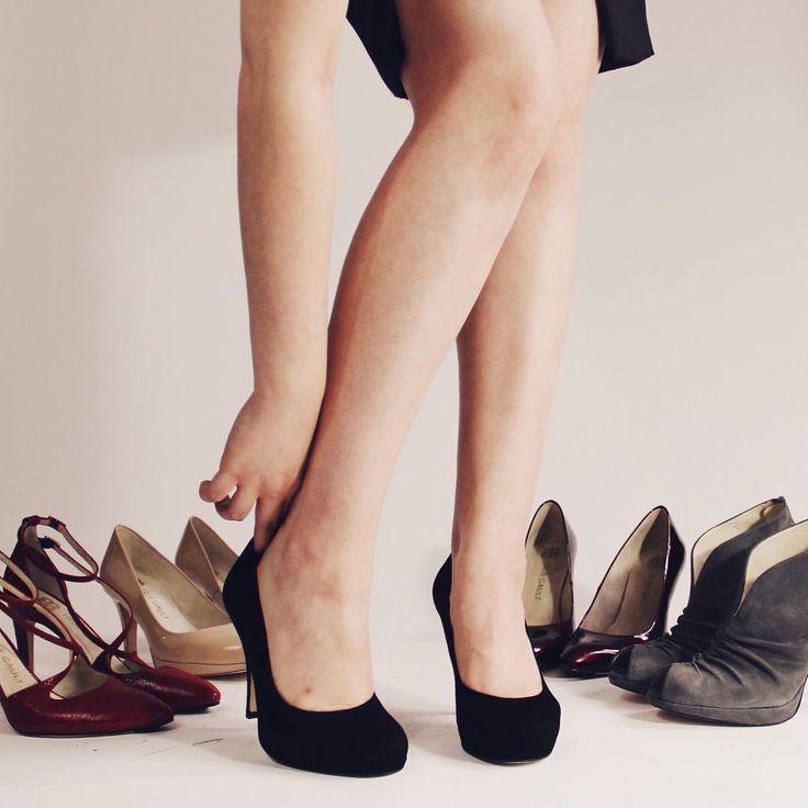 Высокие каблуки становятся более комфортными с помощью технологии сканирования стопы #туфли #мода