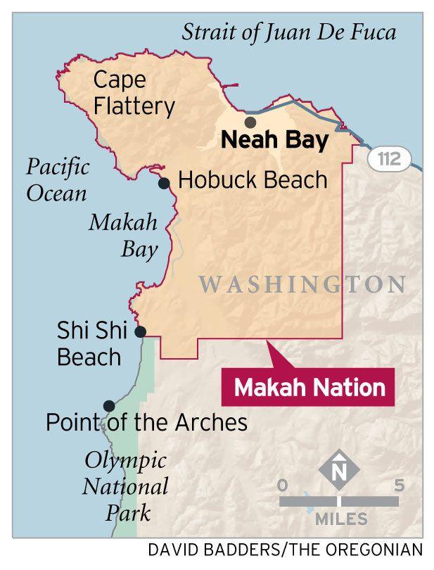 Neah Bay, Washington - Shi Shi Beach