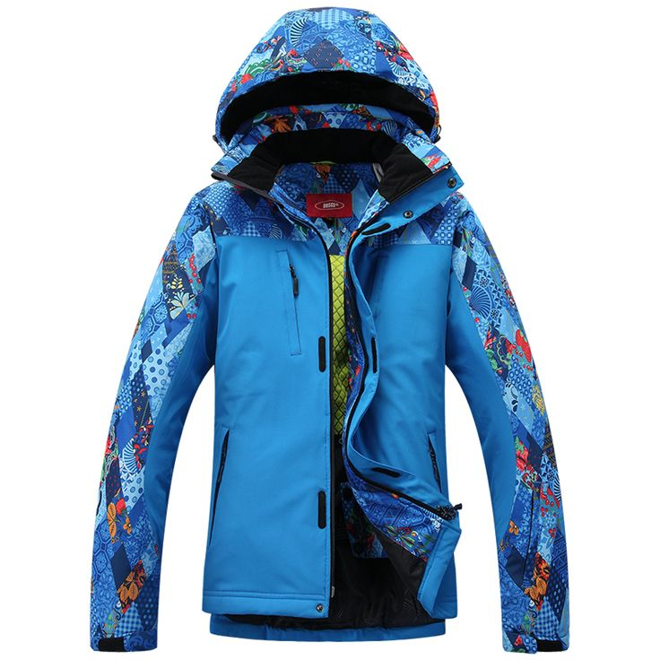 Ski Jacket Men Skiing Clothing Waterproof Windproof And Thremal Fabric Suitable Ski Hiking And Camping In Winter 2 Color
