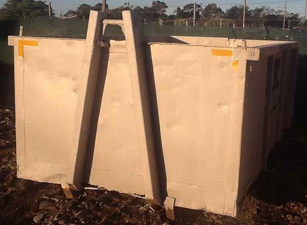 12 cubic metre skip bin from Phoenix skip bin hire Geelong http://www.phoenixbins.com