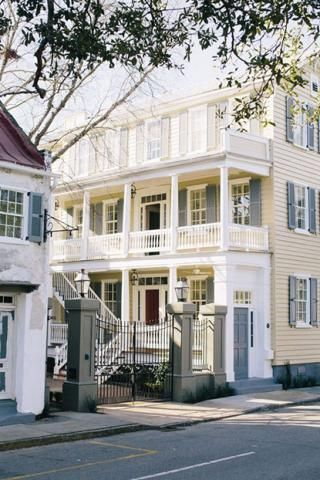Charleston 39 s chic new retreat zero george porches for George boutique hotel
