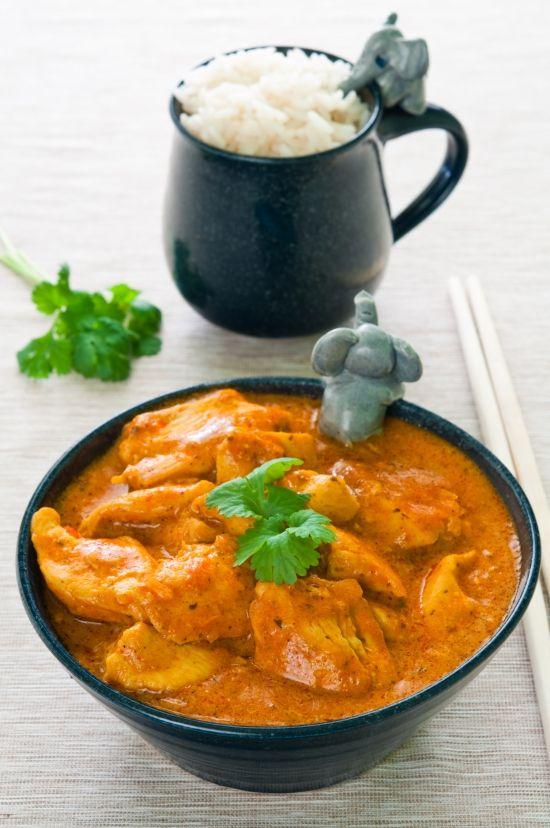 Pollo Indiano con riso basmati