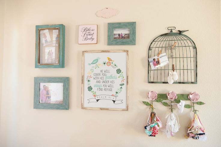 Shabby Chic Gallery Wall