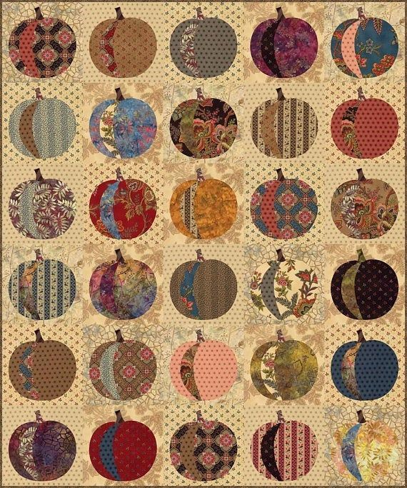 Country Harvest Quilt Pattern Pieced//Applique KD