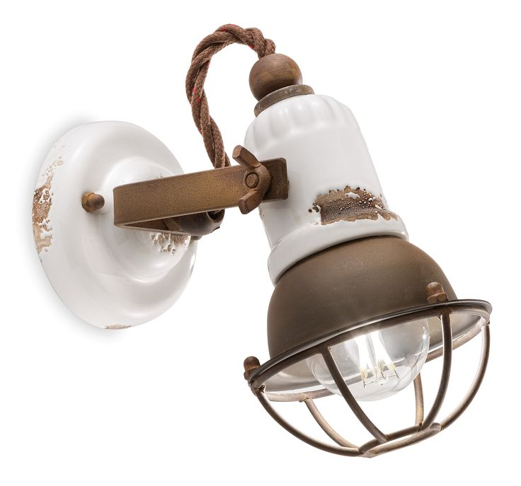 Essential flush light, that bring with itself a vintage taste that is perfect for your loft.