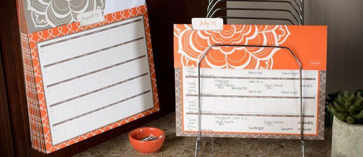 Mead® Organizher® 2015 - 2016 Plan 'n File Calendar