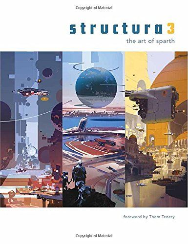 Structure 3 'the art of Sparth' book cover by Sparth