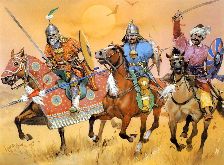 Akbar's Mughal cavalry, late 16th–early 17th centuries