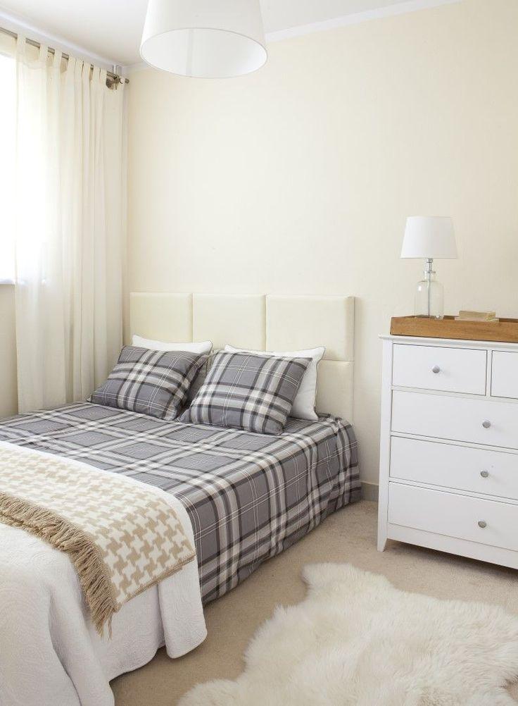 Checkered bedding #dekoriapl #checkered #bedding #betime #pillows #bedroom #scandynavian