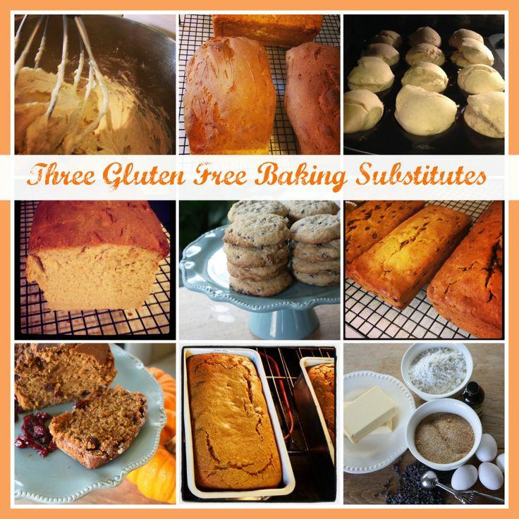 Three Easy Gluten Free Baking Substitutes