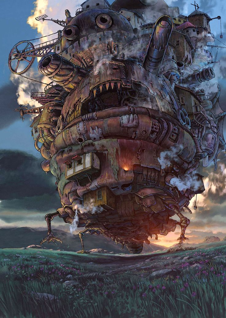 Howl's castle - Hayao Miyazaki, the genius of Japanese animation