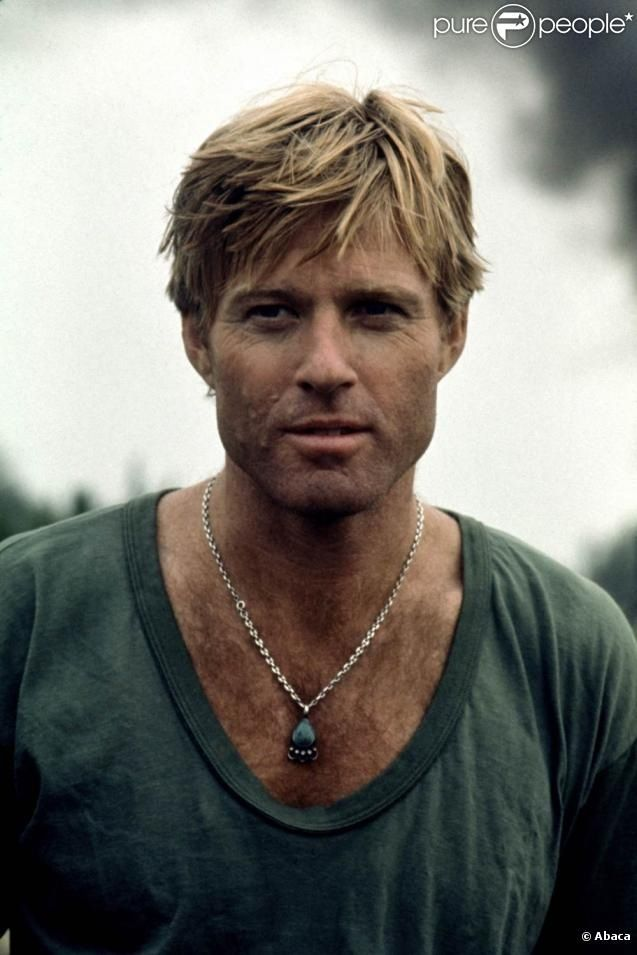 Robert Redford check out the groovy necklace, i have one almost exactly like it..