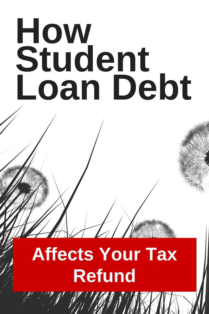 Student loan debt can affect your tax refund by helping you with student loan interest deduction, but also certain forgiveness programs could make you owe.