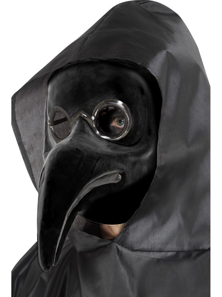 Venetsialaismaski, plague doctor.