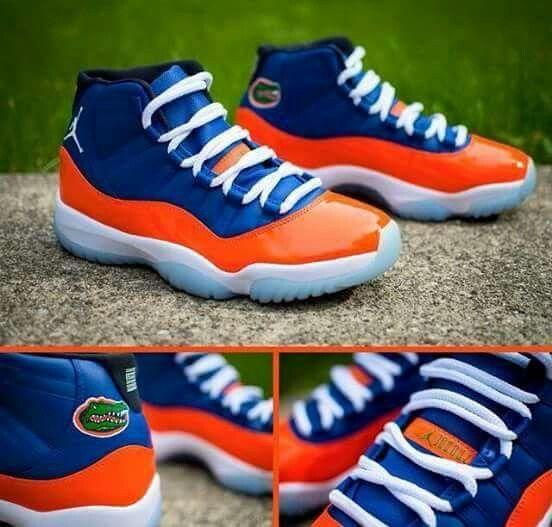 Cool looking sneakers...go Gators!
