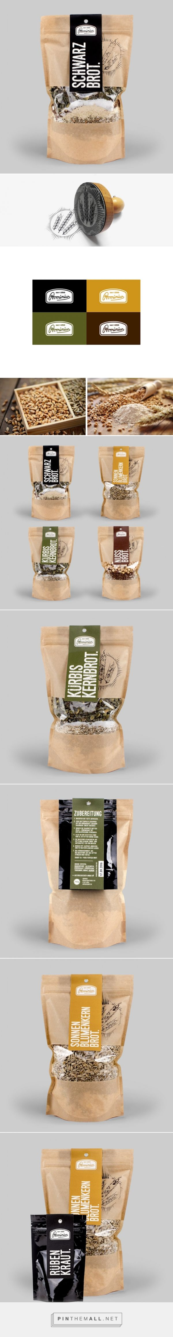Arminius Brot         on          Packaging of the World - Creative Package Design Gallery - created via http://pinthemall.net