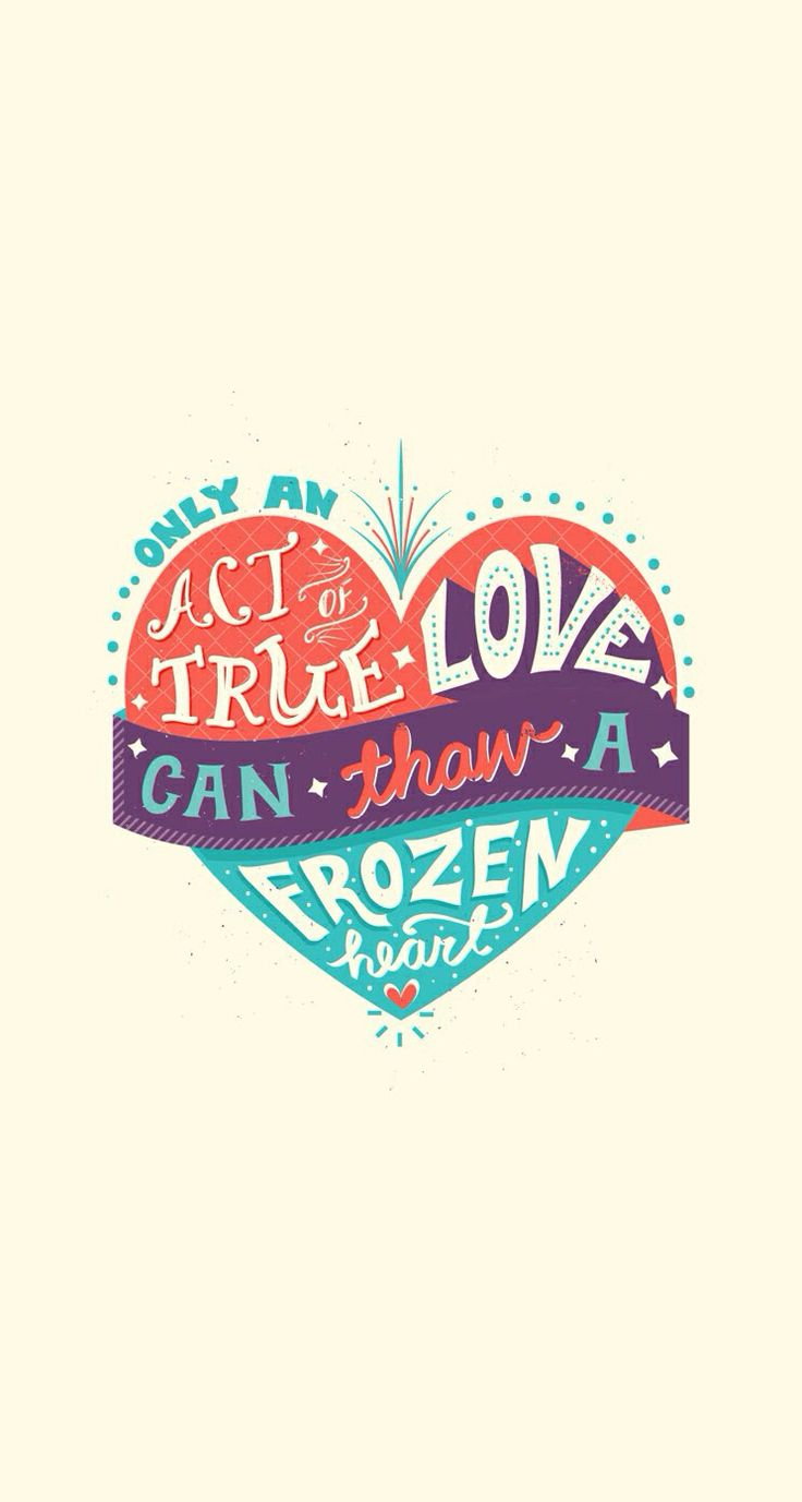 Only true love can thaw a frozen heart.
