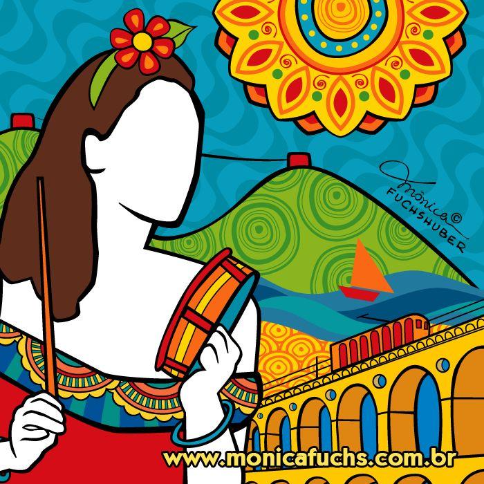 Samba by Mônica Fuchshuber.