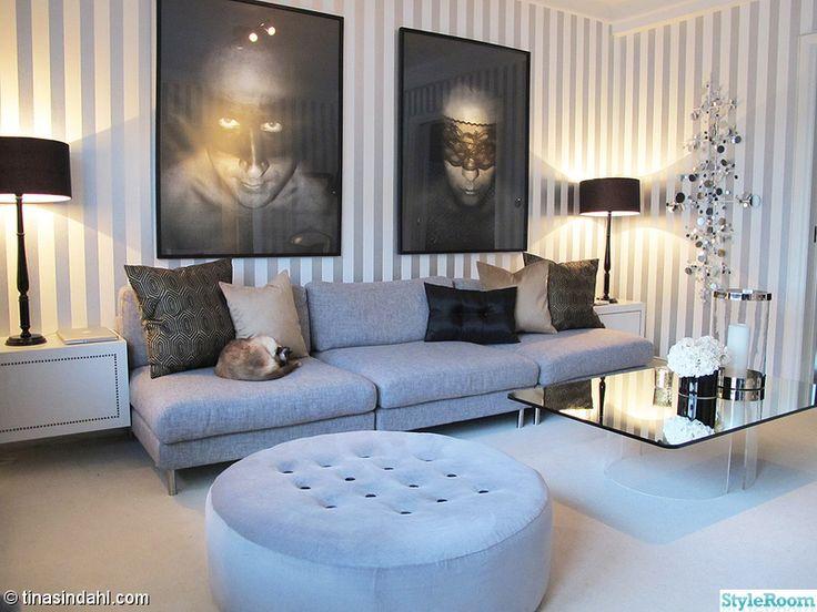 grå stor soffa inspiration - Sök på Google