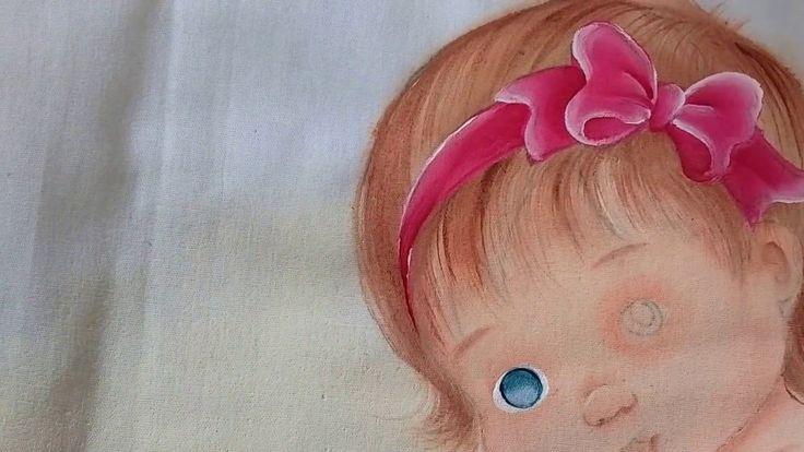 Como pintar olhinho de bebê