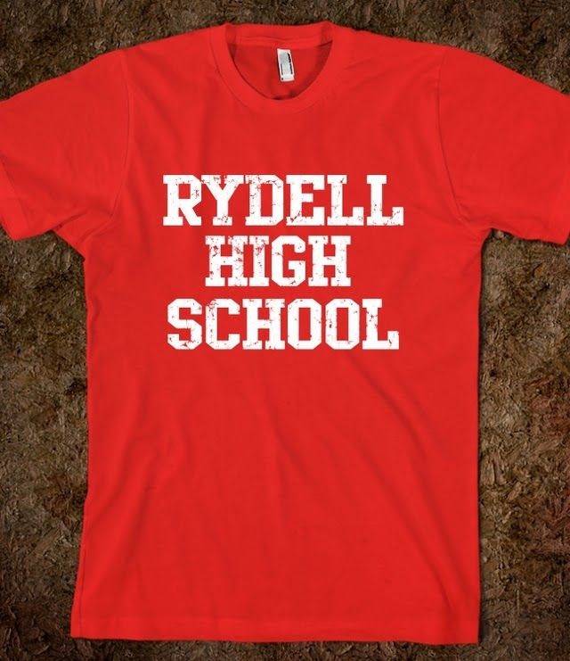 Grease. Rydell High School t shirt