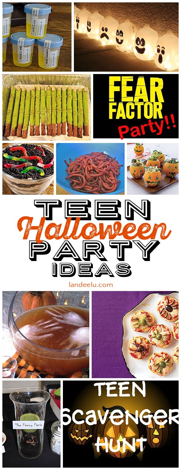So many awesome ideas to throw a creepy and fun Halloween party! Your teen or tween will love it! Easy DIY and simple ideas to make it so fun.
