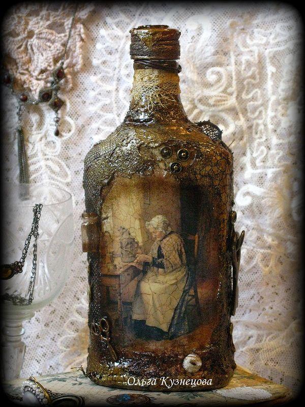Декор бутылок. Altered Bottles 2013