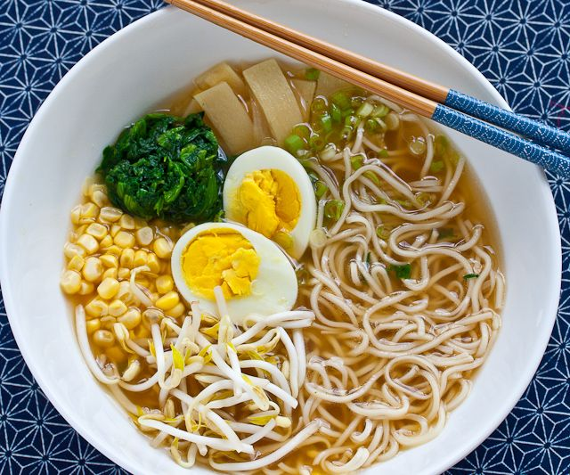 Japanese Miso Ramen Noodle Soup Recipe | Steamy Kitchen Recipes    For when I'm feeling adventurous