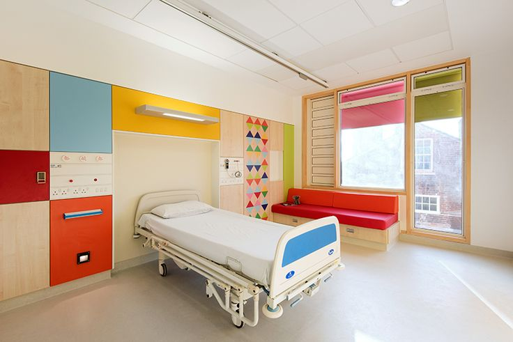 interior design environmental graphics pediatric healthcare