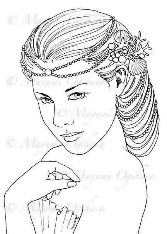 Queen Mermaid Coloring Pages Mermaid Coloring Pages Coloring Pages Horse Coloring Pages