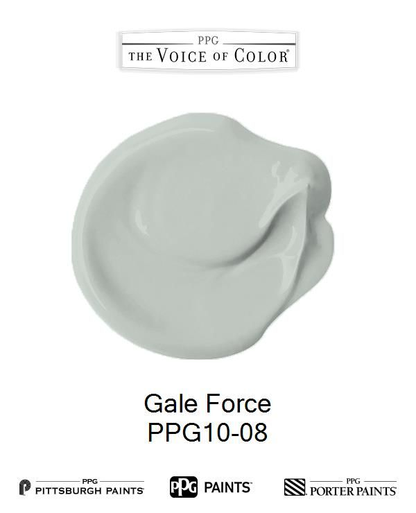 Gale Force is a part of the Trending 2017 Greens collection by PPG Voice of Color®. Browse this paint color and more collections for more paint color inspiration. Get this paint color tinted in PPG PITTSBURGH PAINTS®, PPG PORTER PAINTS® & or PPG PAINTS™ products.