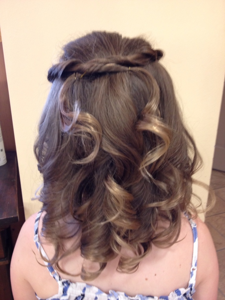 83 best images about first holy communion   hair ideas on