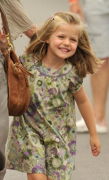 Princess Leonor of Spain at the Real Club Nautico de Palma during the 29th Copa del Rey Audi Sailing Cup on August 3, 2010 in Palma de Mallorca, Spain.