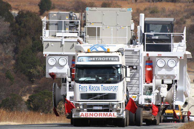 #abnormalload, #transport, #heavyhauling, #africamining www.fkt.co.za
