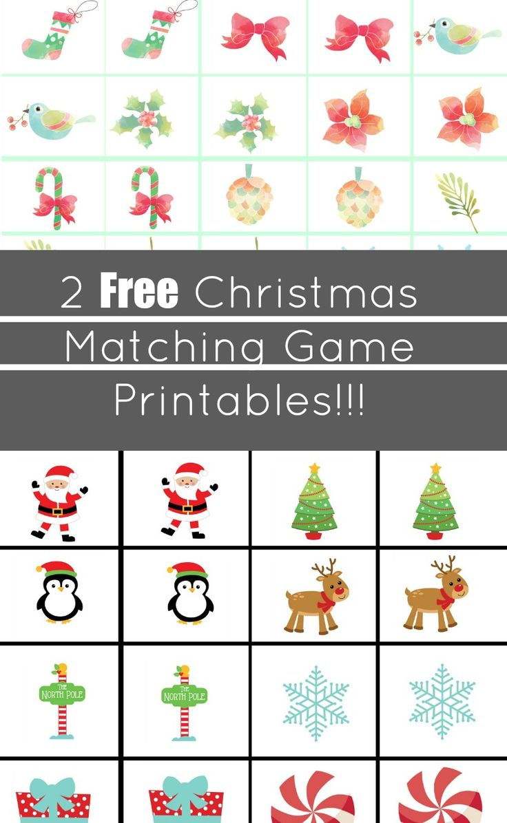 88 best Christmas Printables images on Pinterest | Xmas, Christmas ...
